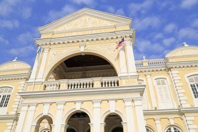 Georgetown Town Hall, Georgetown, Penang Island, Malaysia, Southeast Asia, Asia