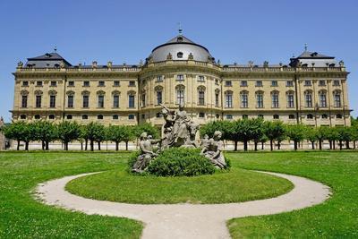 The Residence Palace, UNESCO World Heritage Site, Wurzburg, Bavaria, Germany, Europe