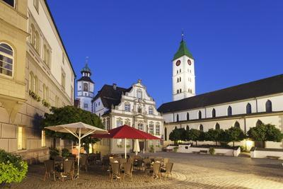 Town Hall, Market Square and St. Martin Church, Wangen