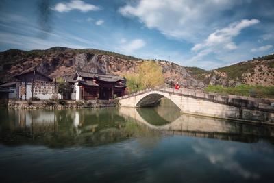 Guan Yin Gorge Park in a Long Exposure