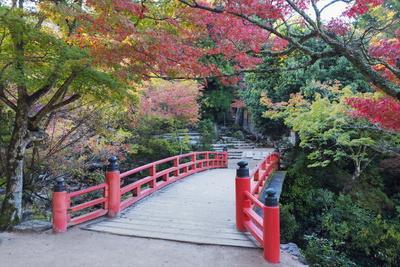 Daisho-In Temple in Autumn, Miyajima Island, Hiroshima Prefecture, Honshu, Japan, Asia