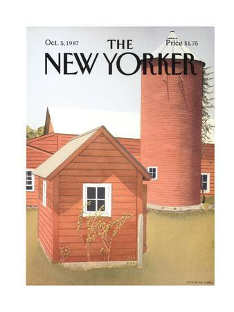 The New Yorker Cover - October 5, 1987