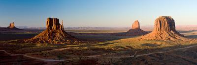 Cliffs on a Landscape, Monument Valley, Monument Valley Tribal Park, Utah, USA