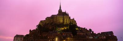 Cathedral on an Island, Mont Saint-Michel, Normandy, France
