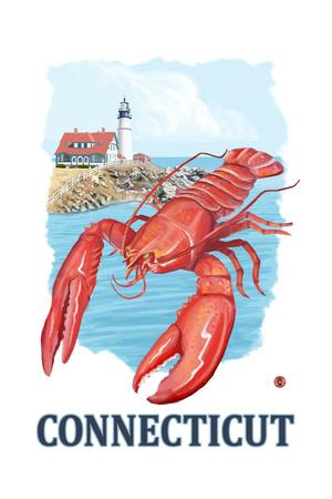 Connecticut - Lobster and Lighthouse