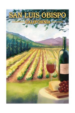 San Luis Obispo, California - Wine Country