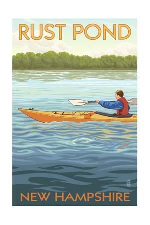 Rust Pond, New Hampshire - Kayak Scene