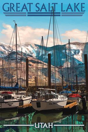 Great Salt Lake, Utah - Marina