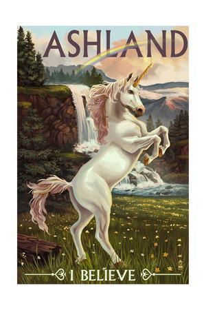 Ashland, Oregon - Unicorn Scene
