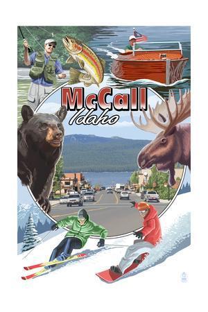 McCall, Idaho - Montage