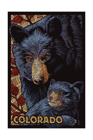 Colorado - Black Bears - Mosaic