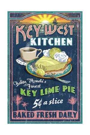 Bahia Honda, Florida Keys - Key Lime Pie Sign