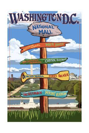 Washington, DC - Sign Destinations