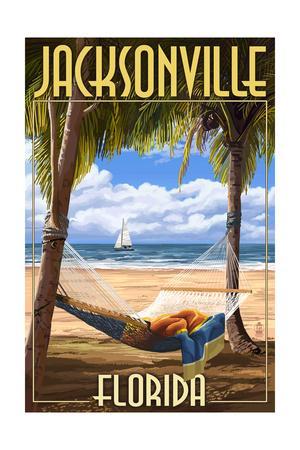 Jacksonville, Florida - Palms and Hammock