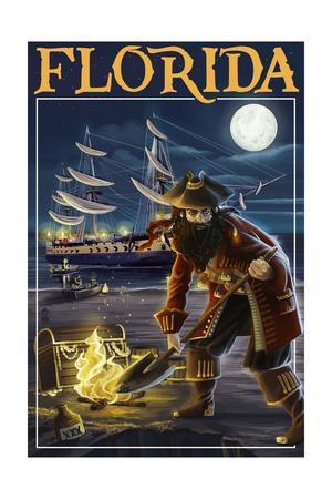 Florida - Pirate and Treasure