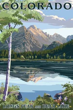 Colorado - Longs Peak and Bear Lake Summer