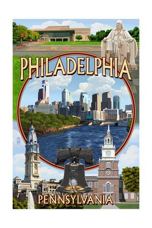 Philadelphia, Pennsylvania - Montage
