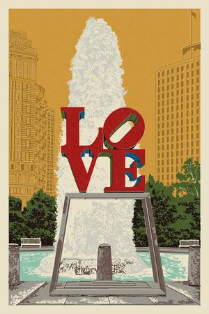Philadelphia, Pennsylvania - Love Statue