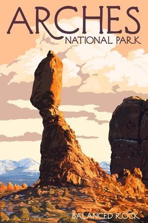 Arches National Park Utah Balanced Rock
