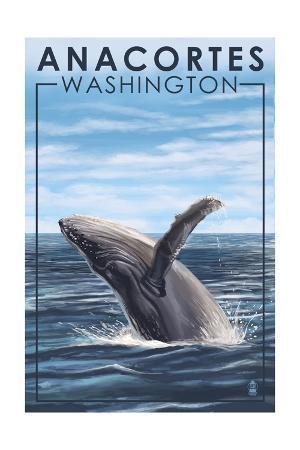 Anacortes, Washington - Humpback Whale