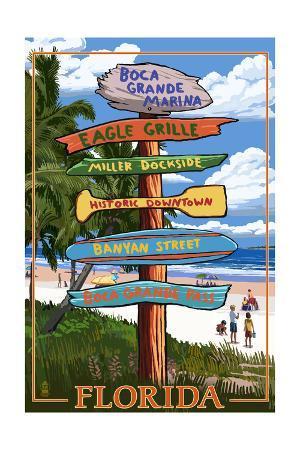 Boca Grande Marina, Florida - Destination Signpost