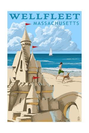 Wellfleet, Massachusetts - Sandcastle