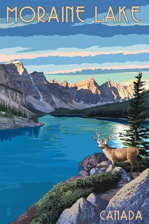 Banff, Alberta, Canada - Moraine Lake