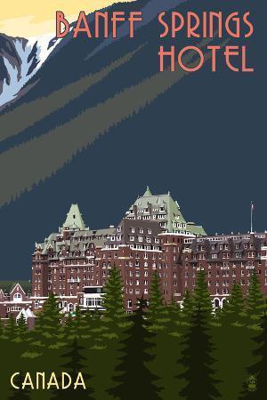 Banff, Canada - Banff Springs Hotel