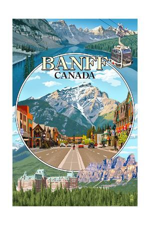Banff, Canada - Montage