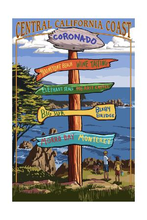 Coronado, California - Signpost