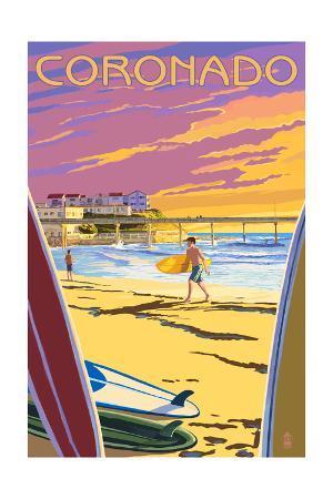 Coronado, California - Ocean Beach Pier