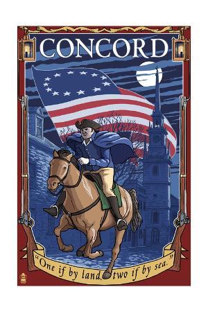 Concord, Massachusetts - Paul Revere