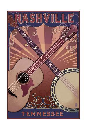 Nashville, Tennessee - Guitar and Banjo Music