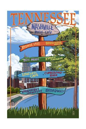 Nashville, Tennessee - Sign Destinations