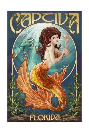 Captiva, Florida - Mermaid