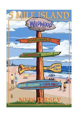 Wildwood, New Jersey - Destination Sign