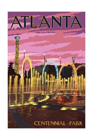 Atlanta, Georgia - Centennial Park