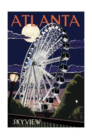 Atlanta, Georgia - Skyview Wheel
