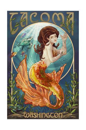 Tacoma, Washington - Mermaid