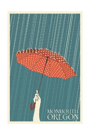 Monmouth, Oregon - Umbrella