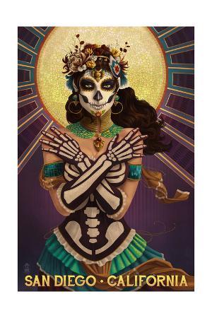 Day of the Dead Crossbones - San Diego, California