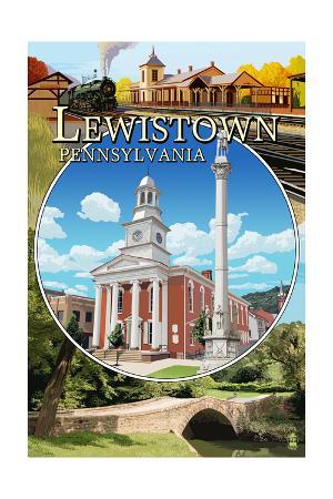 Lewistown, Pennsylvania - Montage Scenes