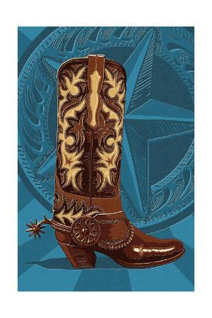 Letterpress Boot - Nashville, Tennessee