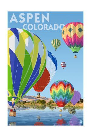 Aspen, Colorado - Hot Air Balloons