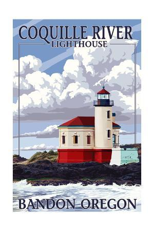 Bandon, Oregon - Coquille River Lighthouse