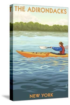 The Adirondacks, New York State - Kayak Scene
