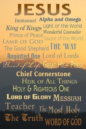 Names of God - Inspirational