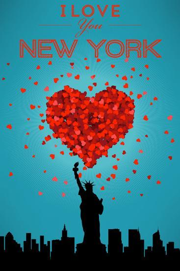 I Love You New York City Ny Posters By Lantern Press At Allposters Com