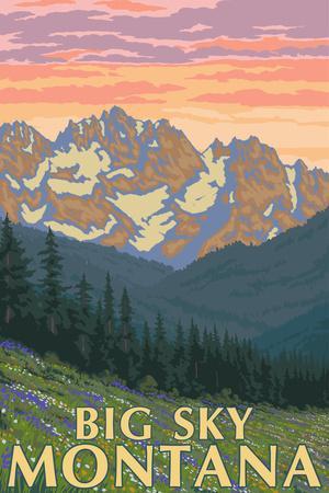 Big Sky, Montana - Spring Flowers