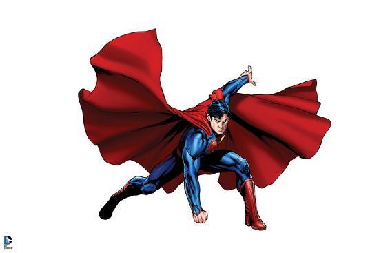 decorate your own superhero cape.htm dc superman comics new  52  core style  print allposters com  dc superman comics new  52  core style